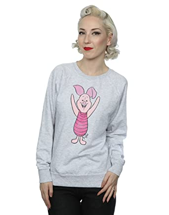 f3c1ae277 Amazon.com: Disney Women's Classic Piglet Sweatshirt: Clothing