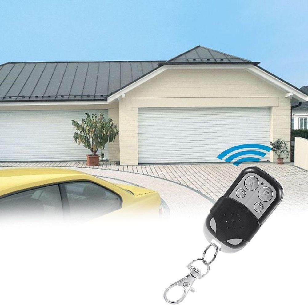 ZHUOTOP Universal 4 Button Gate Garage Door Opener Remote Control Controller 433MHZ Rolling Code
