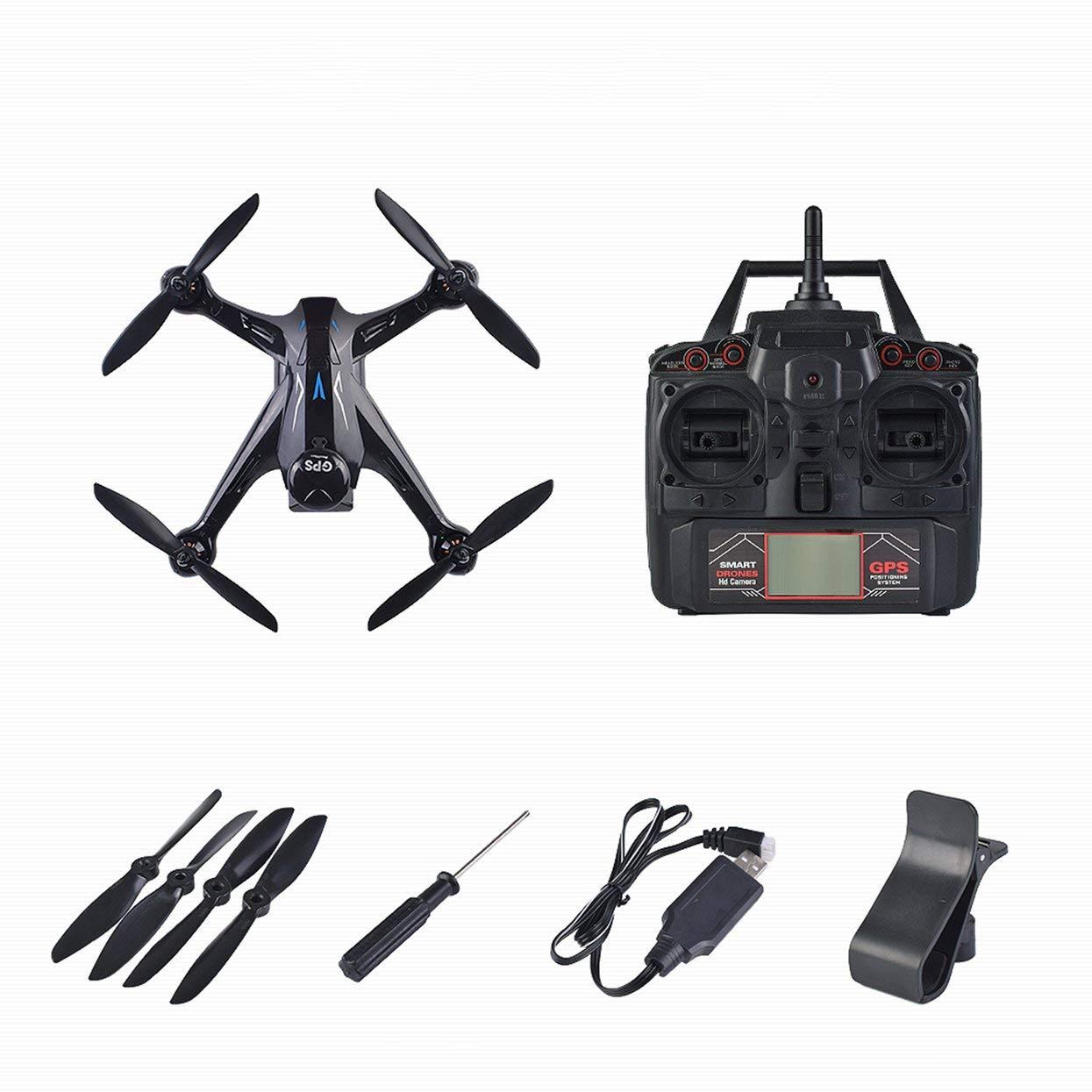 Für Drohne Ray X198 GPS Drone Vier Achsen Flugzeuge mit fester Höhe 720 P WiFi Kamera Quadrocopter RC Drone