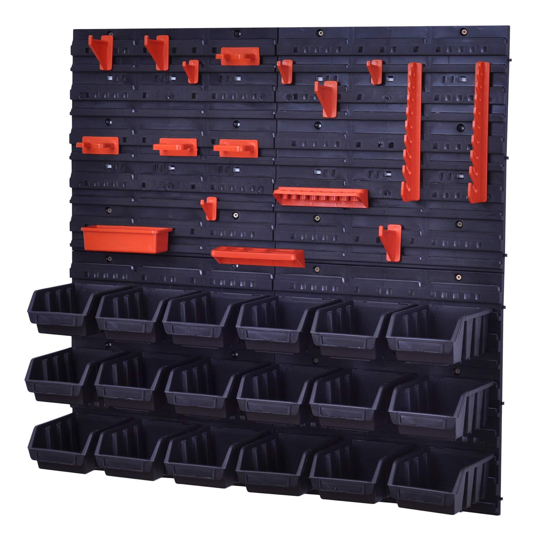 Juego de cajas de almacenamiento y montado en la pared