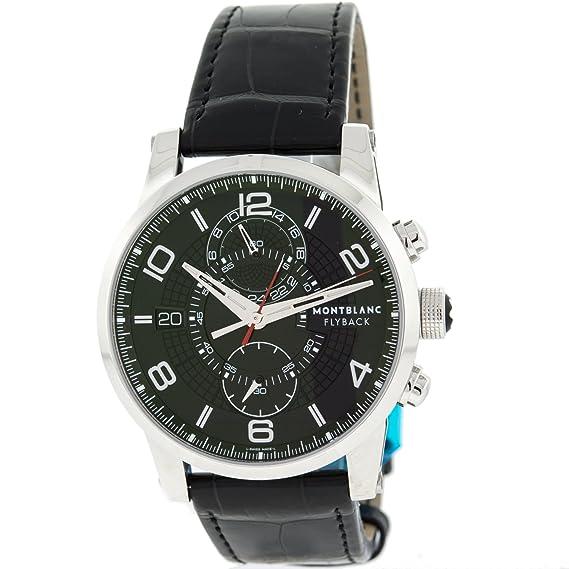 Montblanc - Reloj de pulsera hombre, color negro