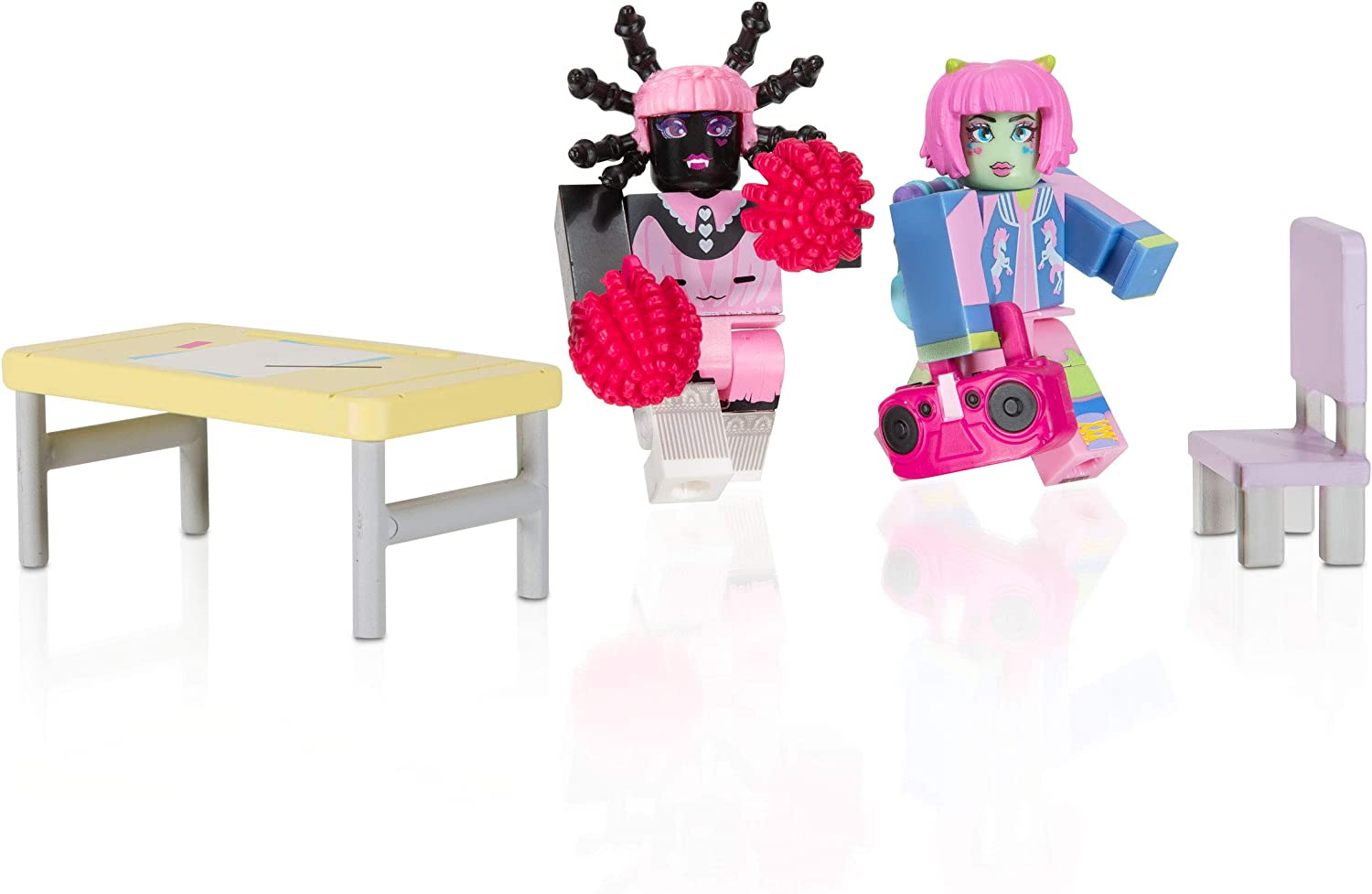 Cute Free Items On Roblox Amazon Com Roblox Celebrity Collection Enchanted Academy Game