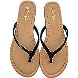 PARTY Comfortable Women Flip Flops Casual Basic Fashion Thong Sandal