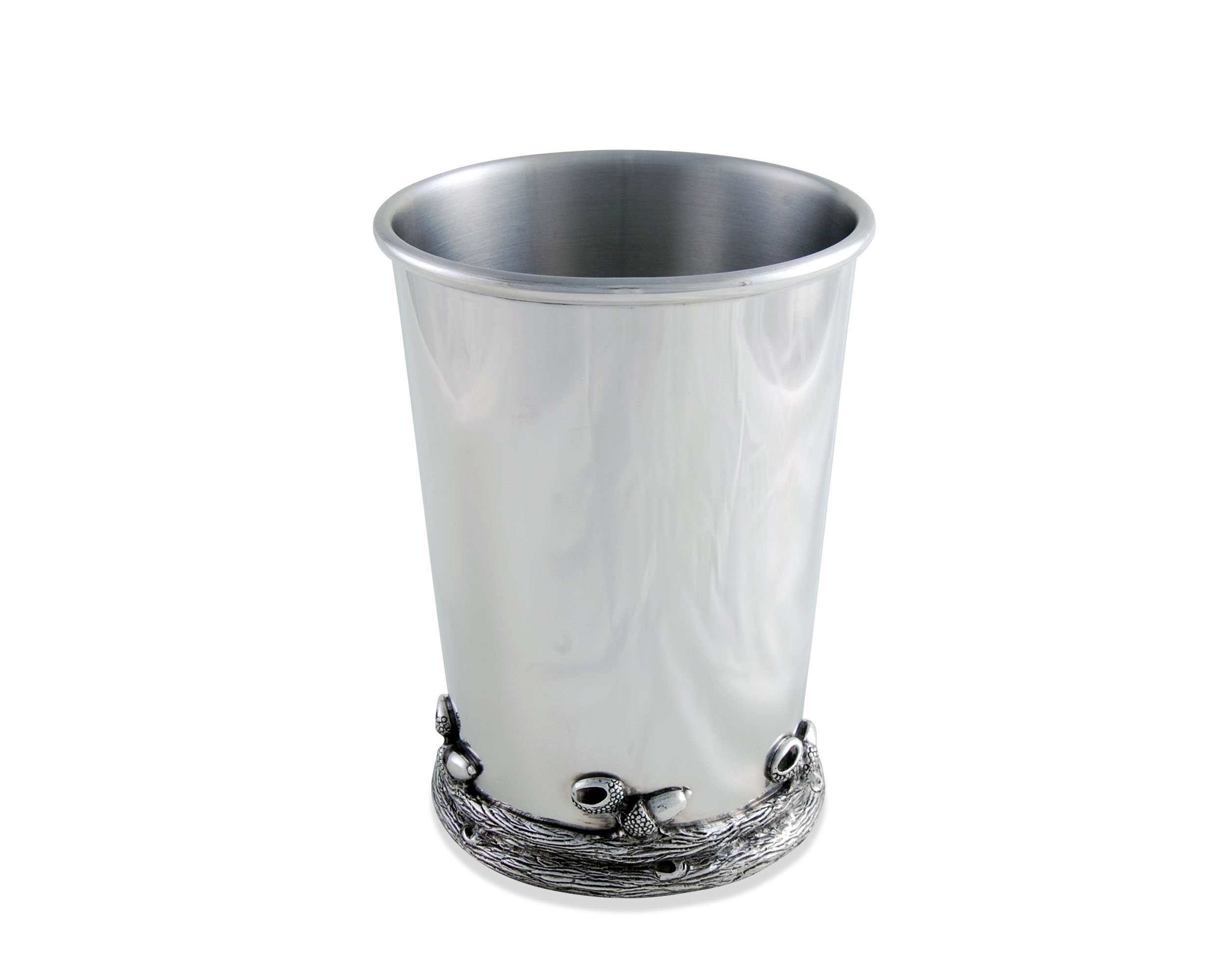 Vagabond House Pewter Julep Cup with Acorns and Oak Leaves