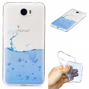 Huawei Y5 II Covers, Huawei Y5 2 Case - Huawei Y5 II / Y5 2 Case, Cozy Hut  Huawei Y5 II / Y5 2 Bumper Case [Ultra Slim], Flexible Soft TPU [Drop
