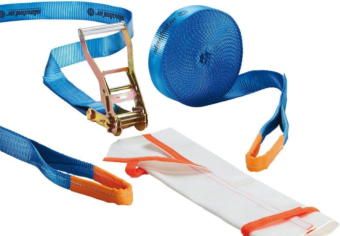 Color Azul Slackline Talla 15 m L/änge Slackstar SL81793-15 50 mm Bandbreite