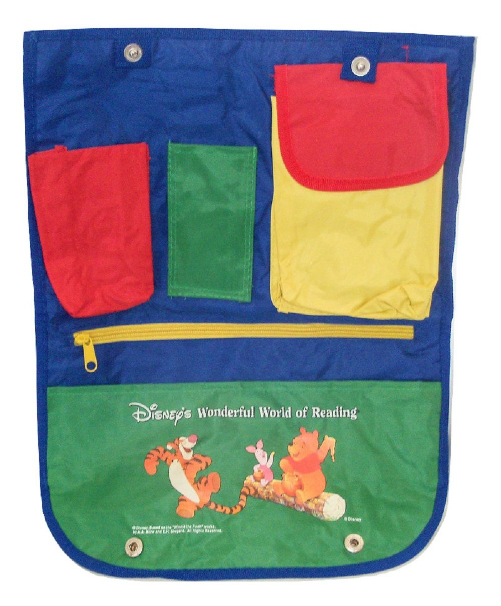 Disney Winnie the Pooh Childrens Backseat Car Organizer Scholastic Inc