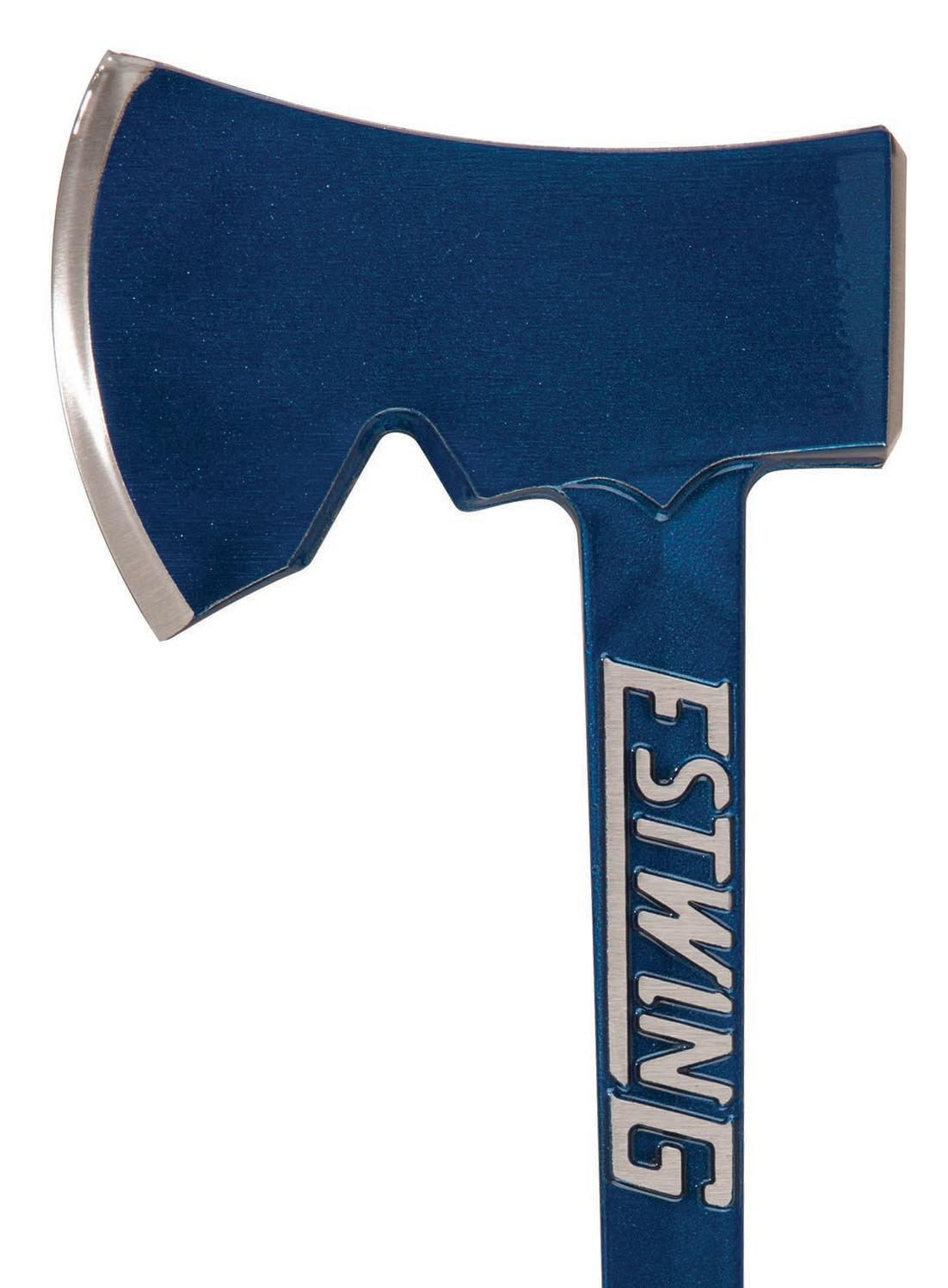 Estwing Camper's Axe - 14'' Hatchet with Forged Steel Construction & Shock Reduction Grip - E6-25A by Estwing (Image #2)