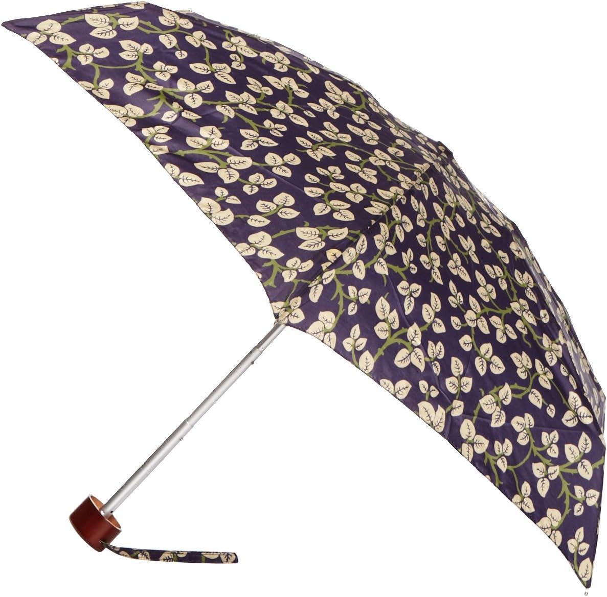 Fulton Ladies Compact Mini Flat Umbrella Various Colours and Prints