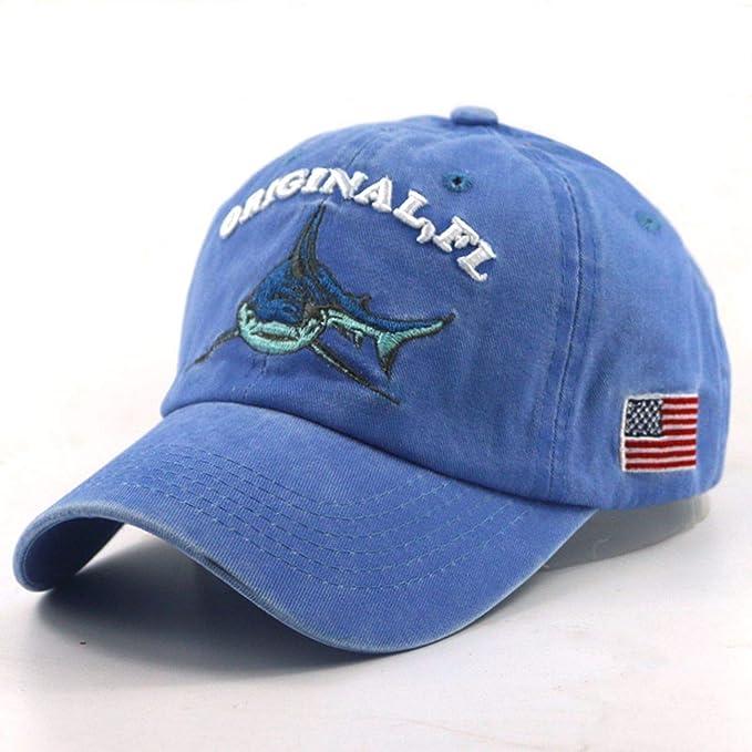 afe650ed3eb Hats Black Rebel Men s Baseball Cap Cotton Washed Retro Shark Hat Caps  Women Hats Fashion Cap Hip hop dad hat at Amazon Men s Clothing store
