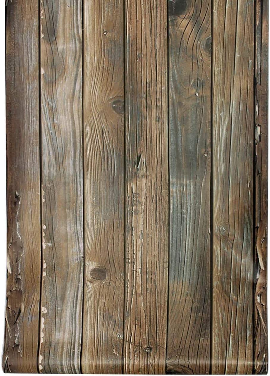 Wood Wallaper/Peel and Stick Wallpaper/Self Adhesive Real Nature Wood Wallpaper/Removable Rustic Wallpaper,17.7