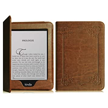 best website f7779 ef3d3 Fintie Folio Case for Kindle Paperwhite - Fits All Paperwhite Generations  Prior to 2018 (Not Fit All-New Paperwhite 10th Gen), Vintage Antique Bronze