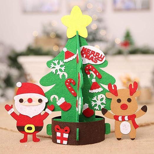 Wooden Christmas Tree Decoration,Jushye Vine Wood Sign Pendant Christmas Decor Ornaments Xmas Gift One Size, Beige