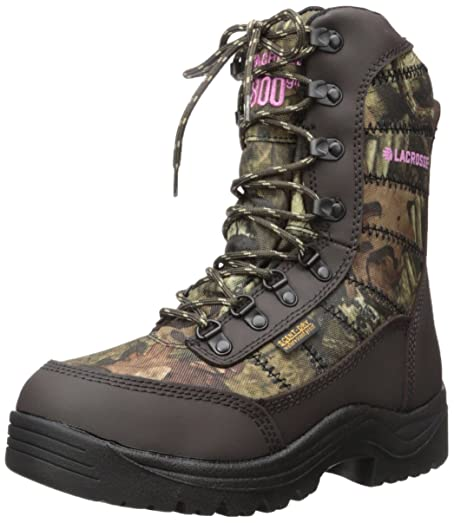 LaCrosse Women's Silencer 8 Inch 800G Hunting Boot, Mossy Oak Break Up  Infinity, 5