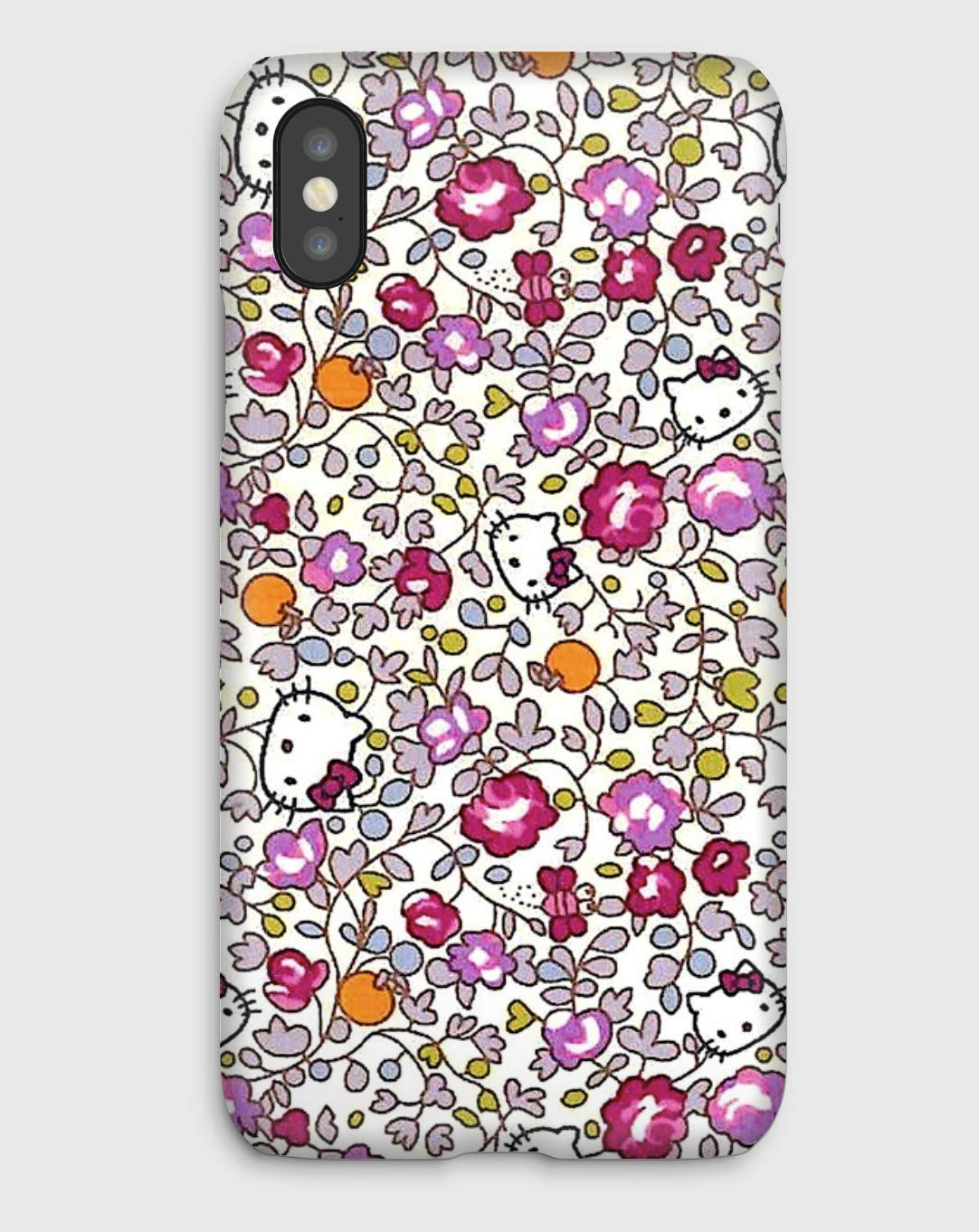 Hello Kitty, coque pour iPhone XS, XS Max, XR, X, 8, 8+, 7, 7+, 6S, 6, 6S+, 6+, 5C, 5, 5S, 5SE, 4S, 4,