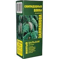 Terpentijnbaden, gele balsem 250 ml, van Zalmanov, voor profylaxe en verjonging