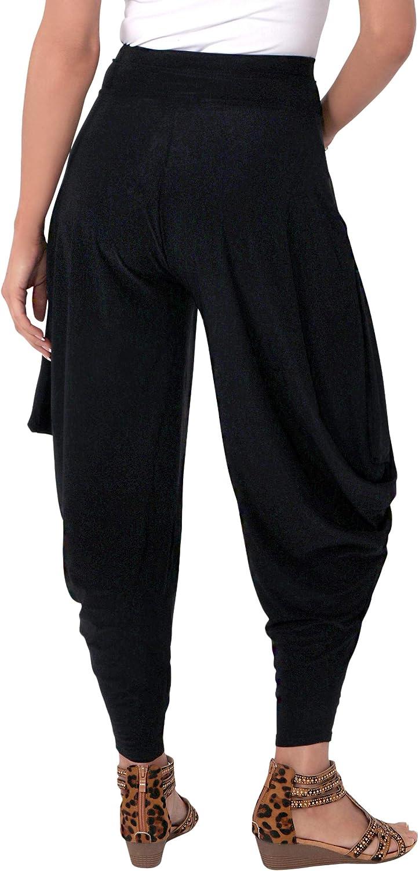 KRISP/® da Harem Pantaloni Stretch Baggy Hippy Boho Aladdin Pantaloni