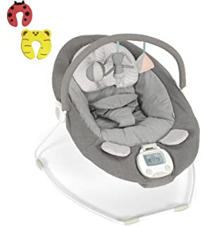 a9d1b25f74f Mamas   Papas Baby Vibrating Musical Apollo Bouncer Grey Melange NEW 2018  DESIGN Chair - Suitable