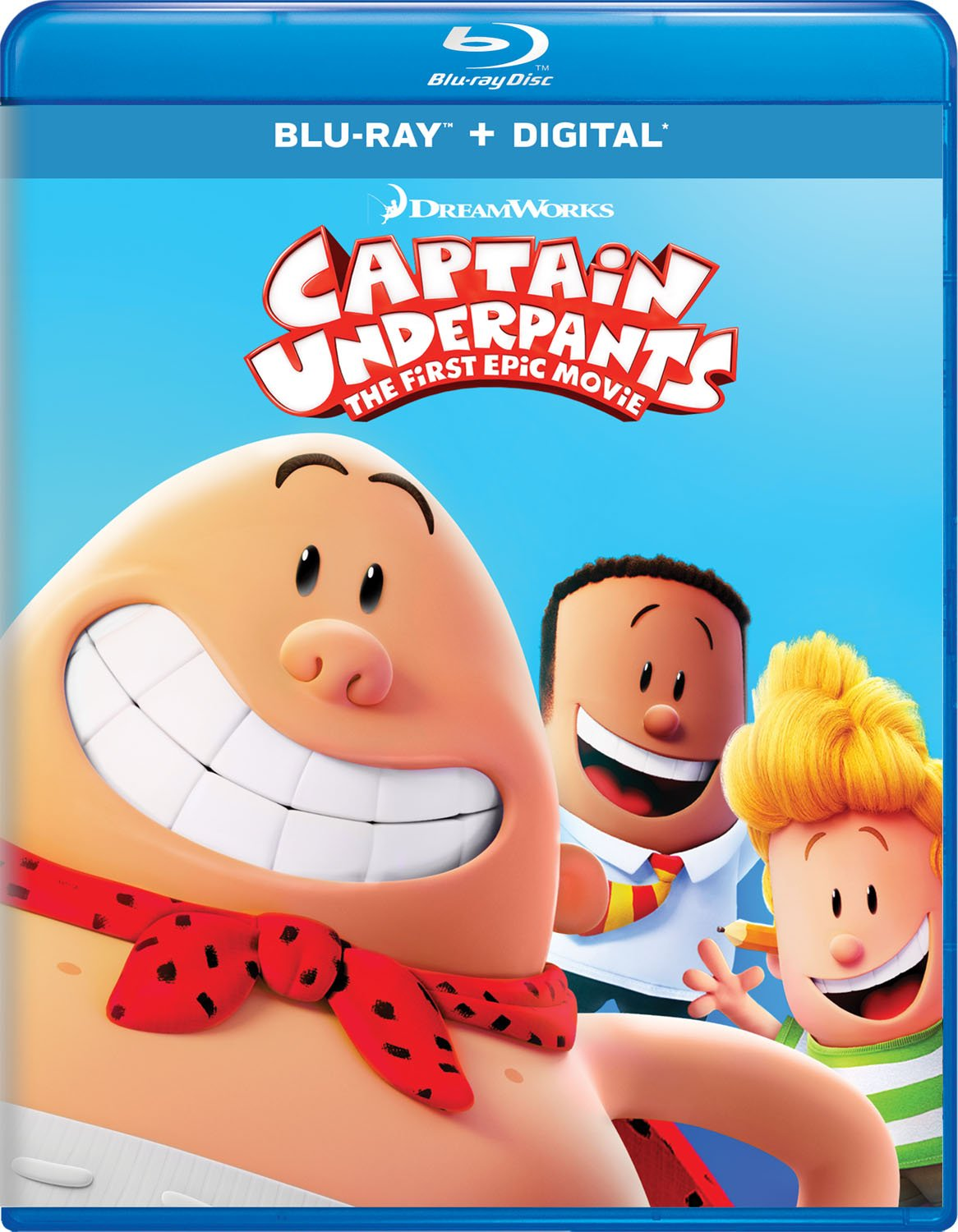 Blu-ray : Captain Underpants: The First Epic Movie (Digital Copy)