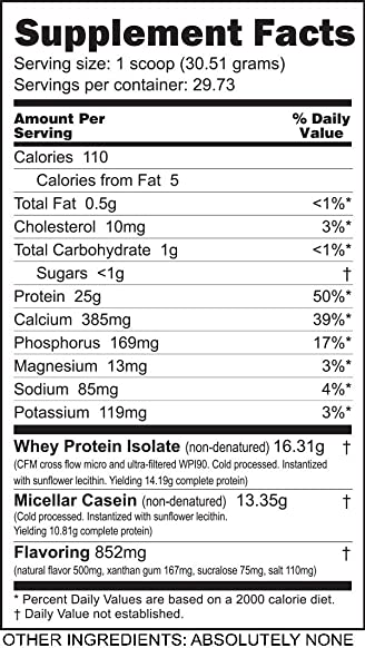NutraBio Muscle Matrix – Whey Protein Blend Vanilla, 2 Pounds