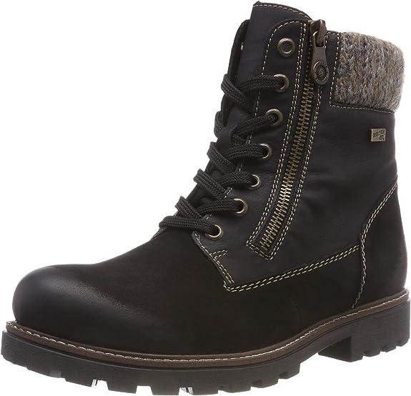 Remonte D7486, Bottes Rangers Femme: : Chaussures