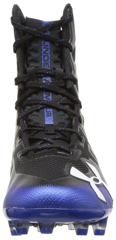 8.5 Under Armour Mens Highlight MC Football Shoe Black 006 //Team Royal
