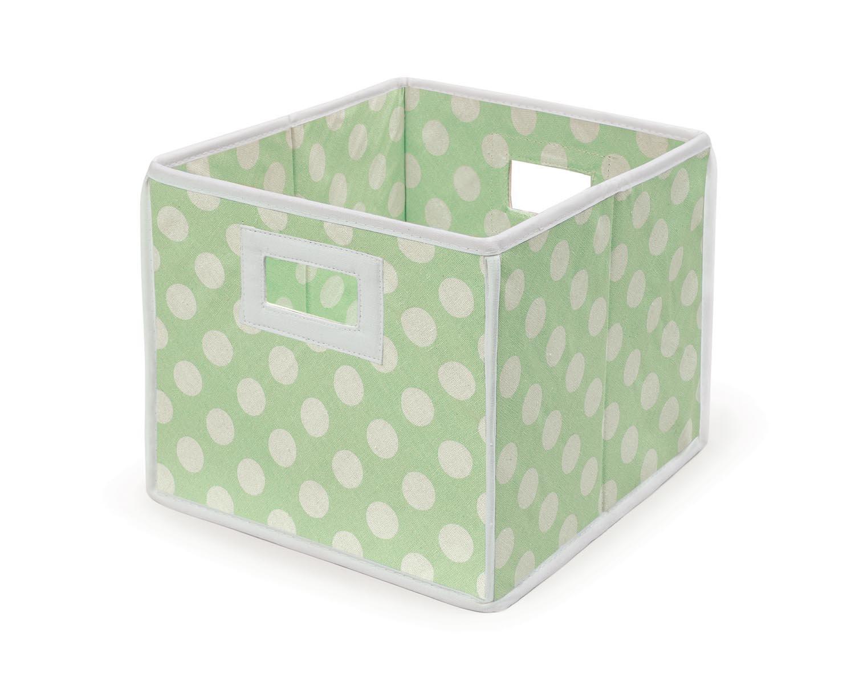 Amazon Com Folding Fabric Nursery Basket Storage Cube