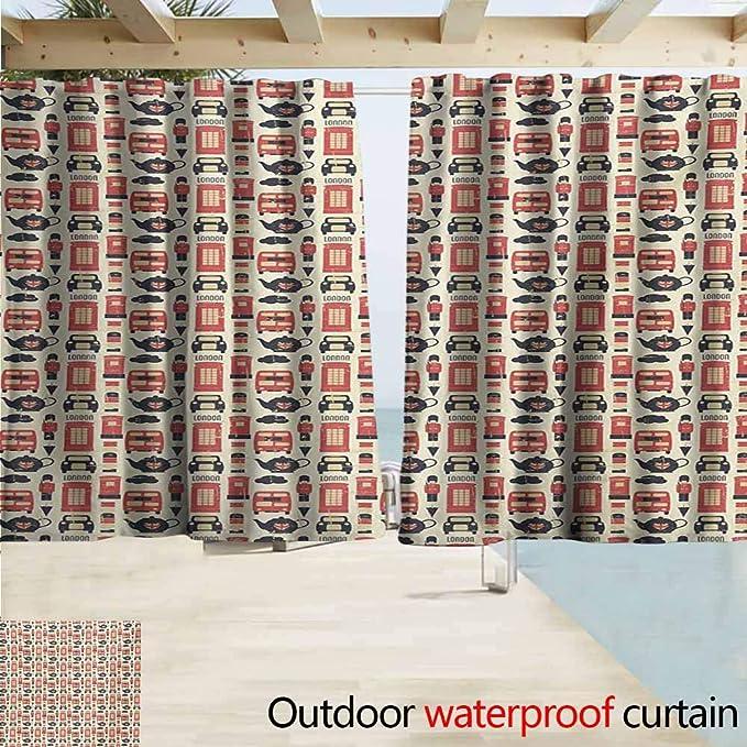 Wlkecgi London - Cortinas para recámara con diseño de símbolos ...