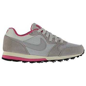 Nike MD Runner - Zapatillas para Mujer Platinum/Gris/Rosa Casual Zapatillas Zapatos, Platinum/Grey/Pink: Amazon.es: Zapatos y complementos