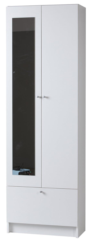 Parisot 602715 FLASH II Colonne Panneau de particules Blanc 59 x 31 x 184 cm