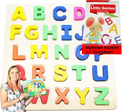 ALPHABET PUZZLE LEARN Play LETTERS FUN GIFT NURSERY kids children home school