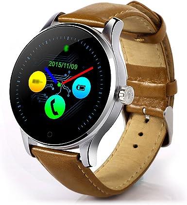 Teckepic K88H Reloj Inteligente Redondo K88H IPS Pantalla ...
