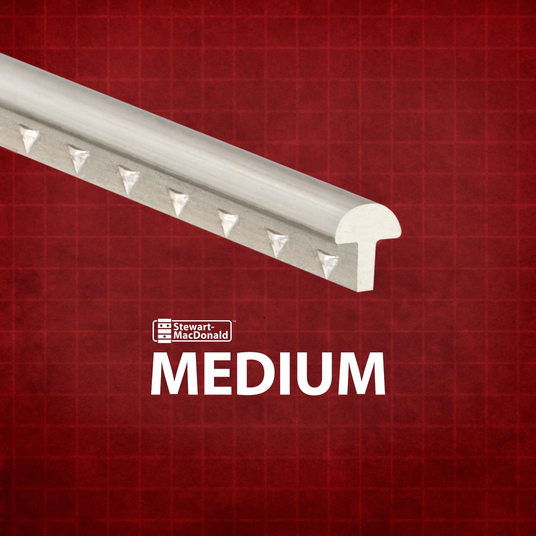 StewMac Medium Fretwire, Medium/Medium, 68-foot pack (1 pound) #AN0148-LB