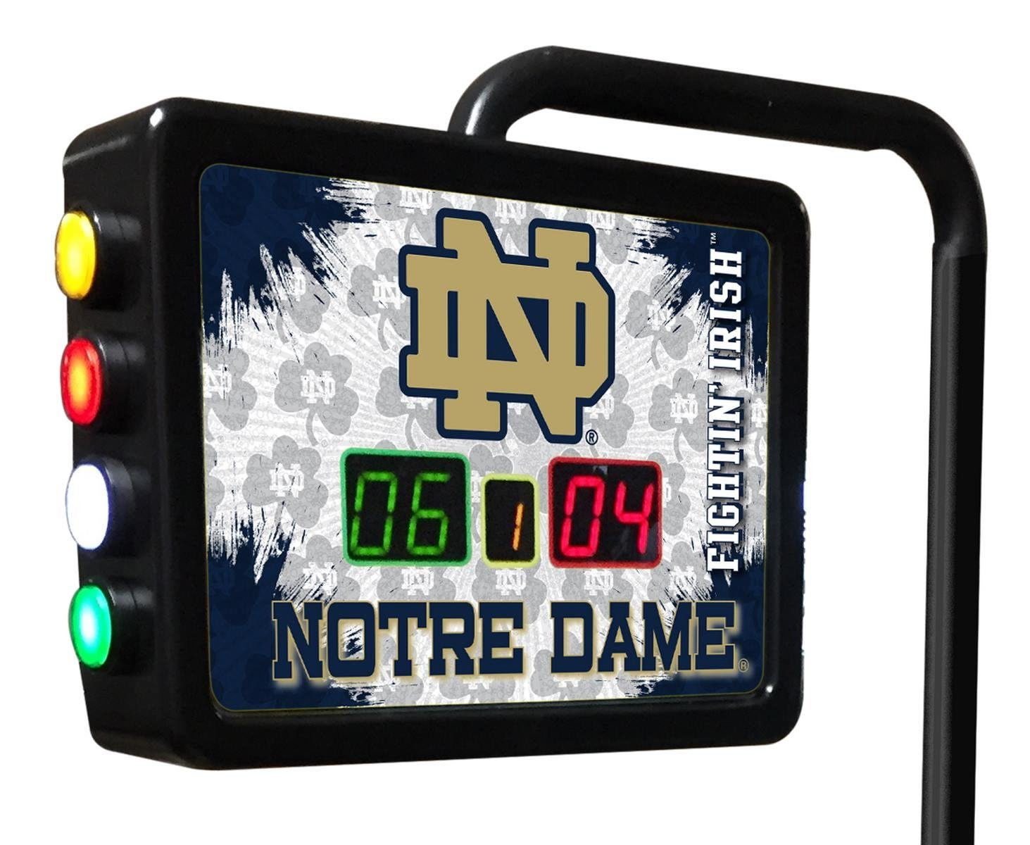 Notre Dame (ND) Electronic Shuffleboard Scoring Unit - Officially Licensed