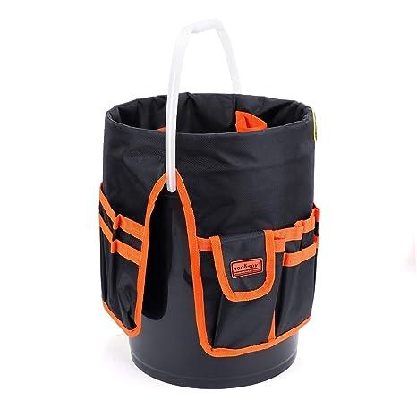 HORUSDY 5 bolsas multiusos con cierre para herramientas ...