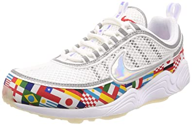 188d4e103a188 Amazon.com | Nike Men's Air Zoom Spiridon 16 NIC, White/Multi-Color ...