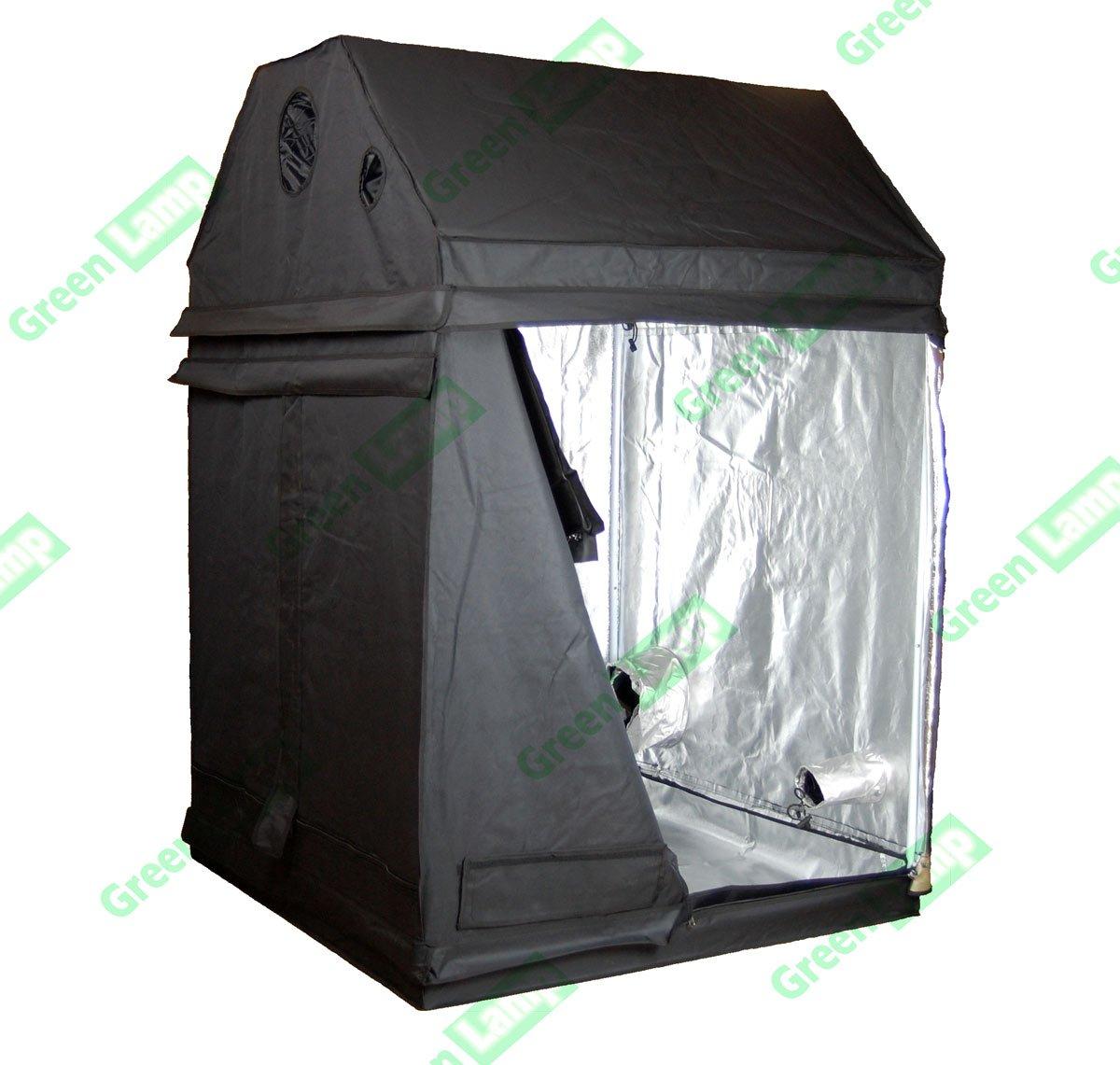Green Lamp Premium Loft 150 x 150 x 160cm 600D Mylar Indoor Attic Grow Tent Box Hydroponics Dark Room