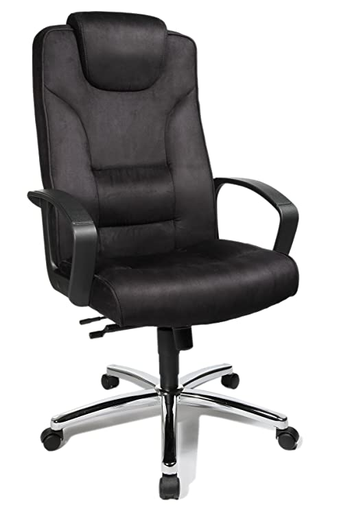 Topstar 7819TA3 Silla de oficina para ejecutivos Comfort Point 50, microfibra color antracita