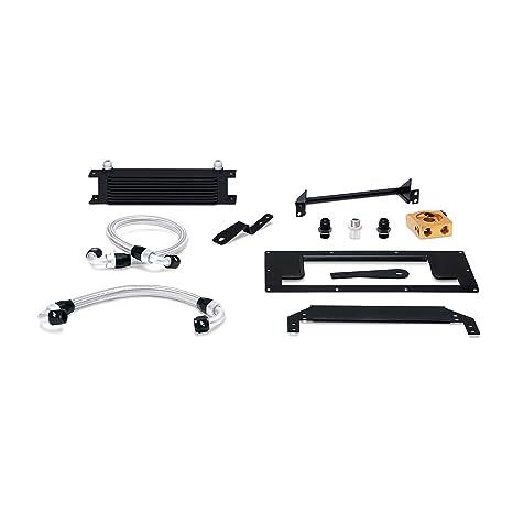 mishimoto mmoc-mia-99tbk termostático Kit de enfriador de aceite, color negro