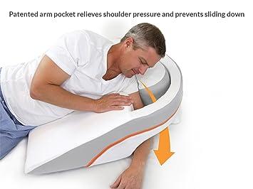 pillow for shoulder pain Amazon.com: MedCline Advanced Positioning, No Slide Anti Acid  pillow for shoulder pain