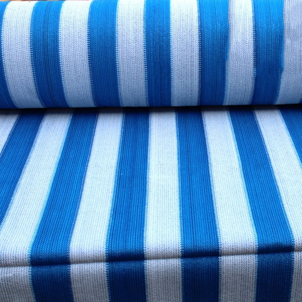 LIANGJUN ターポリン 肥厚 アンチサン 日よけ布 中庭 バルコニー 屋上 シェードネット 125g/m²、 14サイズ、 2色展開 (色 : 青, サイズ さいず : 6X8m) B07CVZPW4X 10479 6X8m|青 青 6X8m