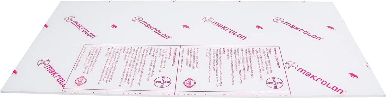 Clear Polycarbonate Sheet 24 x 36 x 1//4 Lexan Makrolon