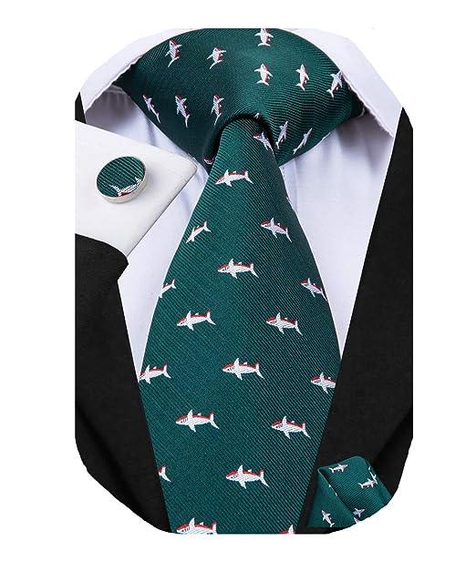 Amazon.com: Dubulle - Juego de corbata y pañuelo de bolsillo ...