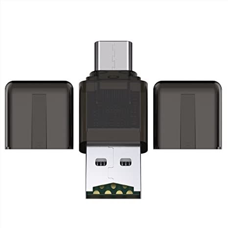 BC Master USB Tipo-C Lector de Tarjetas a Micro SD Lector ...