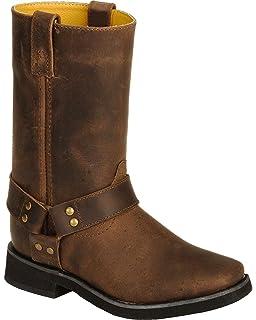 ee31dbb7179 Amazon.com | Smoky Mountain Boys' Western Boot Square Toe - 3523Y ...