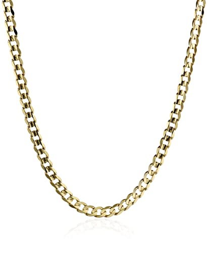 curb necklace gold cahin lyg nives chain products fine oval