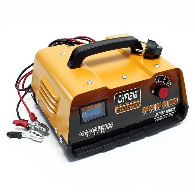Cargador Batería Vehiculos CHF1216 Baterías 6V 12V Coche ...