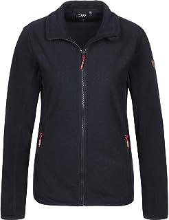 CMP Damen Jacke Woman Zip Hood Jacket 38Z1766P 60BL 36 NERO