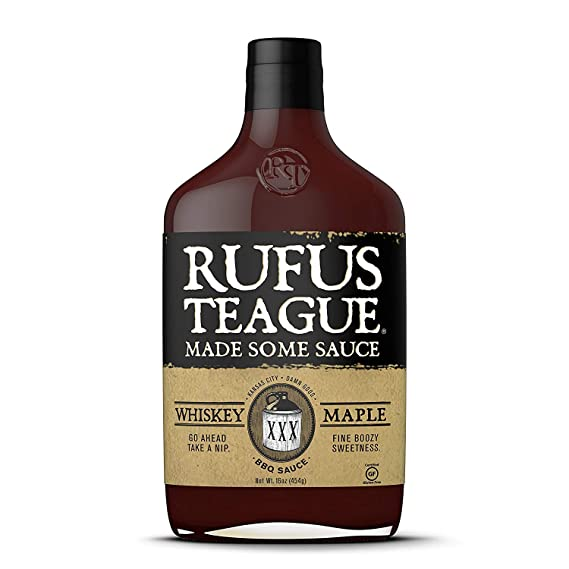Rufus Teague Whiskey Maple Sauce - 453g ...