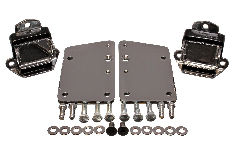 Energy Suspension 3-1147G Short/Wide Chrome Conversion Mount for LS1 Engine 3.1147G